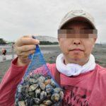 GW!潮干狩りに独りで行ってきた!採り方のポイントとあさりの持ち帰り方塩抜きも 船橋三番瀬海浜公園