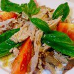 鰹がバジルとオリーブオイル香るイタリアンに!鰹(カツオ)のイタリアンサラダ