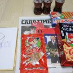 カープコラボ商品、広島土産を送っていただきました!
