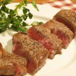 フライパンで美味しくサーロインステーキ と 魚焼きグリルで焼くスペイン料理 ネギの丸焼き