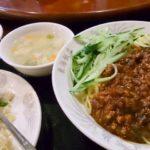 ジャージャー麺と半チャーハンセット ランチ 浜松町 東海飯店