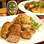 タイ料理 タイ北部地方のソーセージと牡蠣のホイトードを手作りしてみた。
