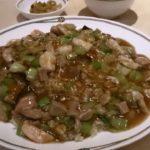 色々な味と食感、美味しくて笑顔になります!ランチ 福建式あんかけ炒飯  市ヶ谷 中国飯店