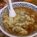 ランチ 目黒 揚州商人 酸辣湯麺
