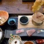 串揚げと刺身 大阪らしいランチ 曽根崎新地 和食「 みのる」と新大阪駅穴子弁当
