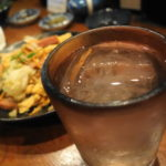 那覇 沖縄料理 初めてのもずくの天ぷら「吉崎食堂」