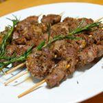 赤ワインに合います!ラム肉のクミン焼き串