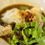 2017/9月 バンコク-パタヤ旅行 サラデーン 15バーツクイッティオ(麺)の店 タムナック・クイッティオルア