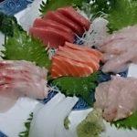 津田沼 釣り魚居酒屋 神月 刺盛りと鰹のたたき