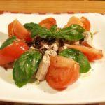 オリーブオイルマリネのカツオのサラダ