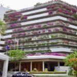 2018/7 パタヤ旅行アヴァニ(AVANI Pattaya Resort & SPA)ホテル 緑美しい中庭とプール充実した設備のジムにバラエティに富んだ朝食に満足