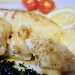 夏こそ美味しい鱈! 鱈(たら)のムニエル ジェノベーゼソース