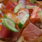 具沢山でおまけにネタがまた美味しい!バラちらしセット 神戸三宮  鮨 真之助