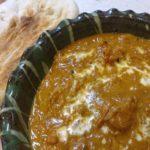 にんにく生姜すりおろしをたっぷり使ったチキンカレー(インドカレー)
