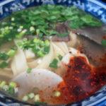 【食べ歩き】旨味たっぷりの牛肉スープに香辛料が香る蘭州牛肉麺 池袋「蘭州拉麺 火焔山」