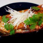 蒸し蒸しする梅雨には金目鯛の姿蒸し「清蒸鮮魚」(鮮魚の広東風姿蒸し)