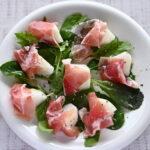 福島県産幸水(梨)と生ハムのサラダ