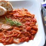 豚肩ロース肉のトマト煮「ピッツァオーラ(ピザ職人風)」~CARNE ALLA PIZZAIOLA~